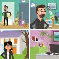Extraits d'une animation pour CASH-EXPRESS