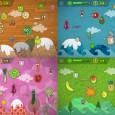 création des decors et des personnages d'un jeu pour SPEAKYPLANET