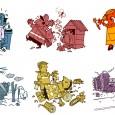 """Illustrations sur le thème des """"premiers secours"""""""